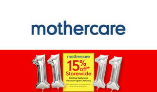 Single's Day 11.11 Sale Mothercare