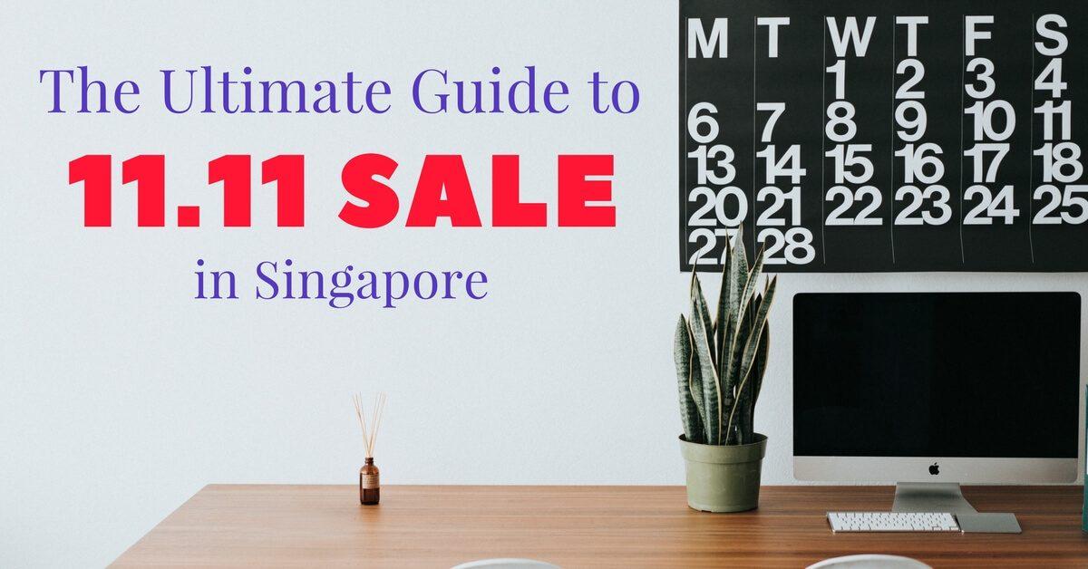11.11 Sale Guide Singapore 2017 Singles Day Sale