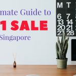 11.11 Sale Guide Singapore 2017 Singles Day Sale