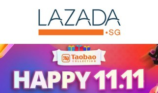 Singles Day Single's Day 11.11 Sale Lazada Taobao Collection
