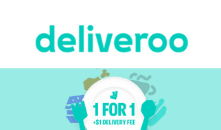 Single's Day 11.11 Sale deliveroo