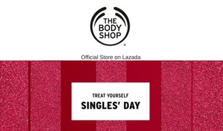 Single's Day 11.11 Sale Bodyshop Lazada