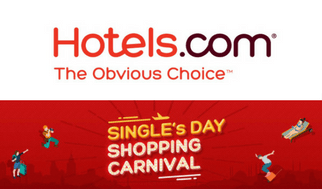 Single's Day 11.11 Sale Hotels.com