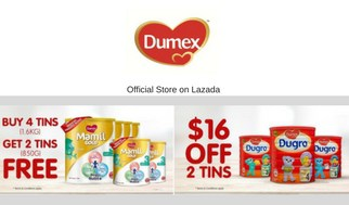 Single's Day 11.11 Sale Dumex Lazada
