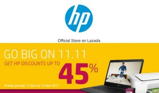 Single's Day 11.11 Sale HP Lazada