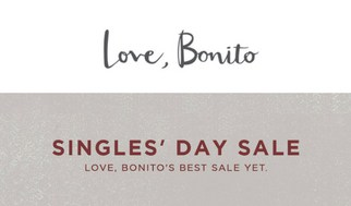 Single's Day 11.11 Sale Love Bonito