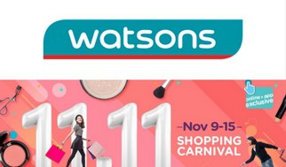 Single's Day 11.11 Sale Watsons