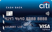 Citi cashback promo