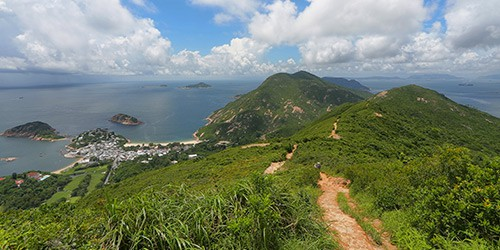 Hong Kong Dragon's Back Hiking
