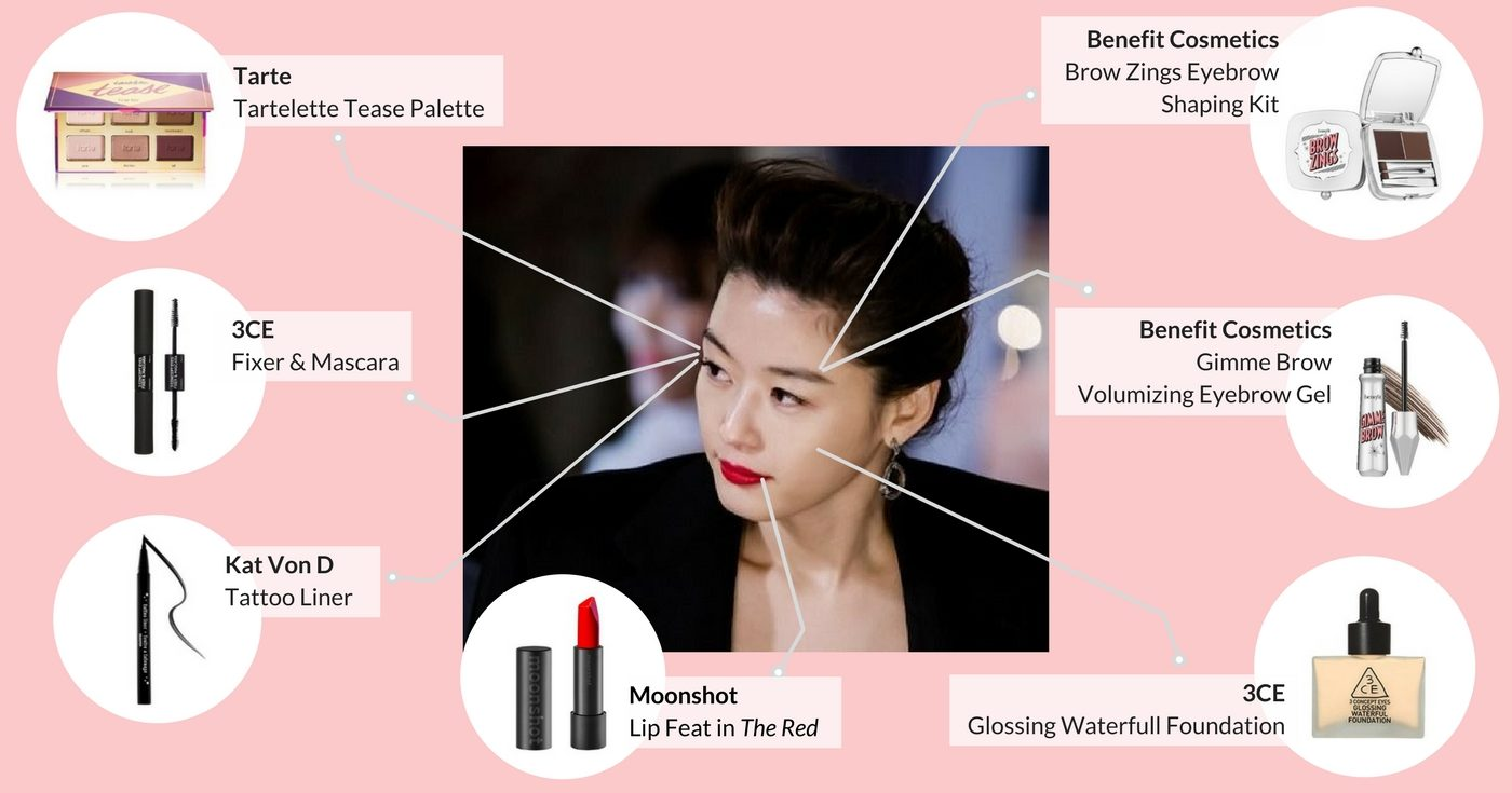 Jun Ji Hyun Korean Makeup Inspiration (Cardable)