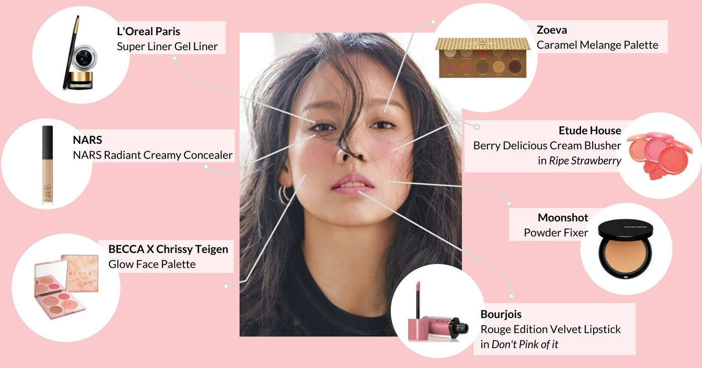 Lee Hyori Korean makeup inspiration (Cardable)