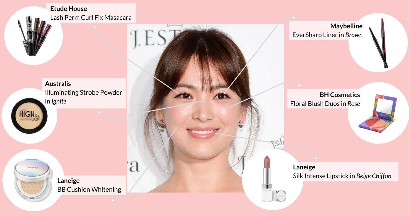 Song Hye Kyo Korean Makeup Inspiration (Cardable)