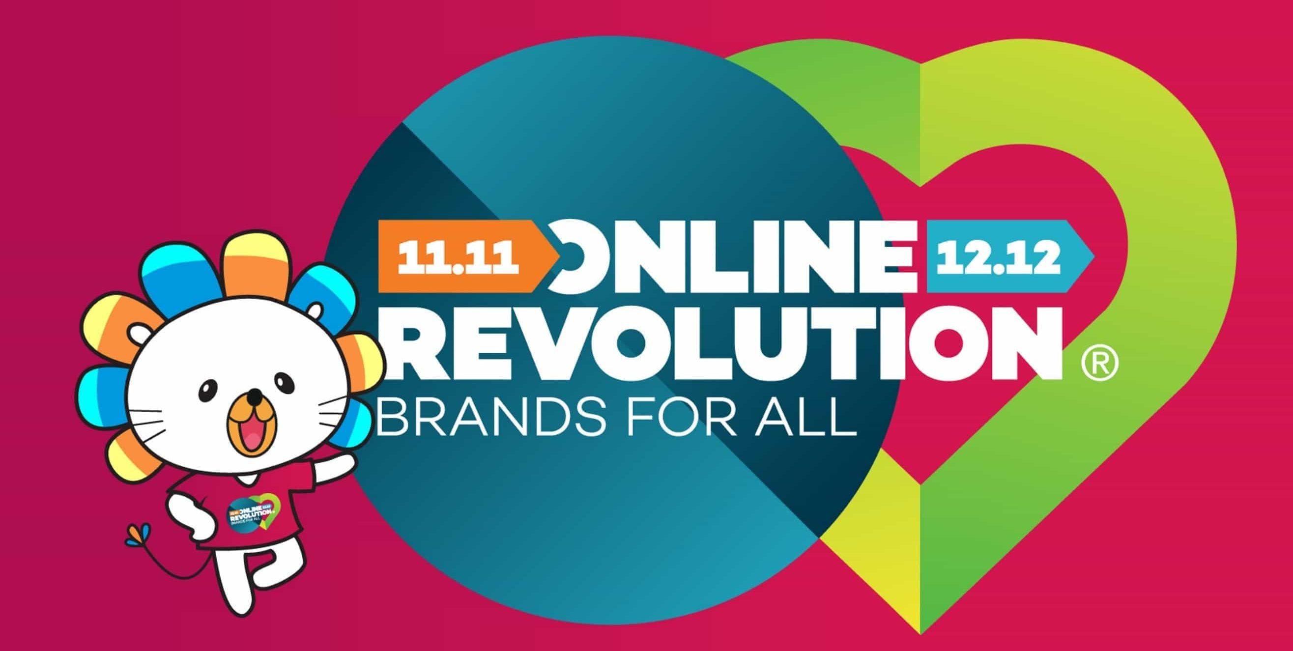Lazada Online Revolution Single's Day 11.11 Sale