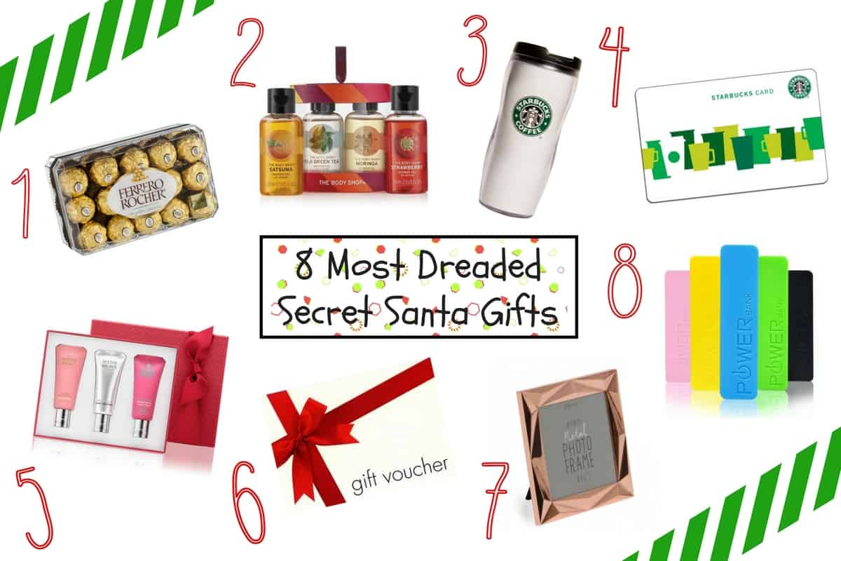 8 Most Dreaded Secret Santa Gifts (And What Christmas Gifts You ...