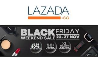 Black Friday Sale in Singapore 2017 Lazada