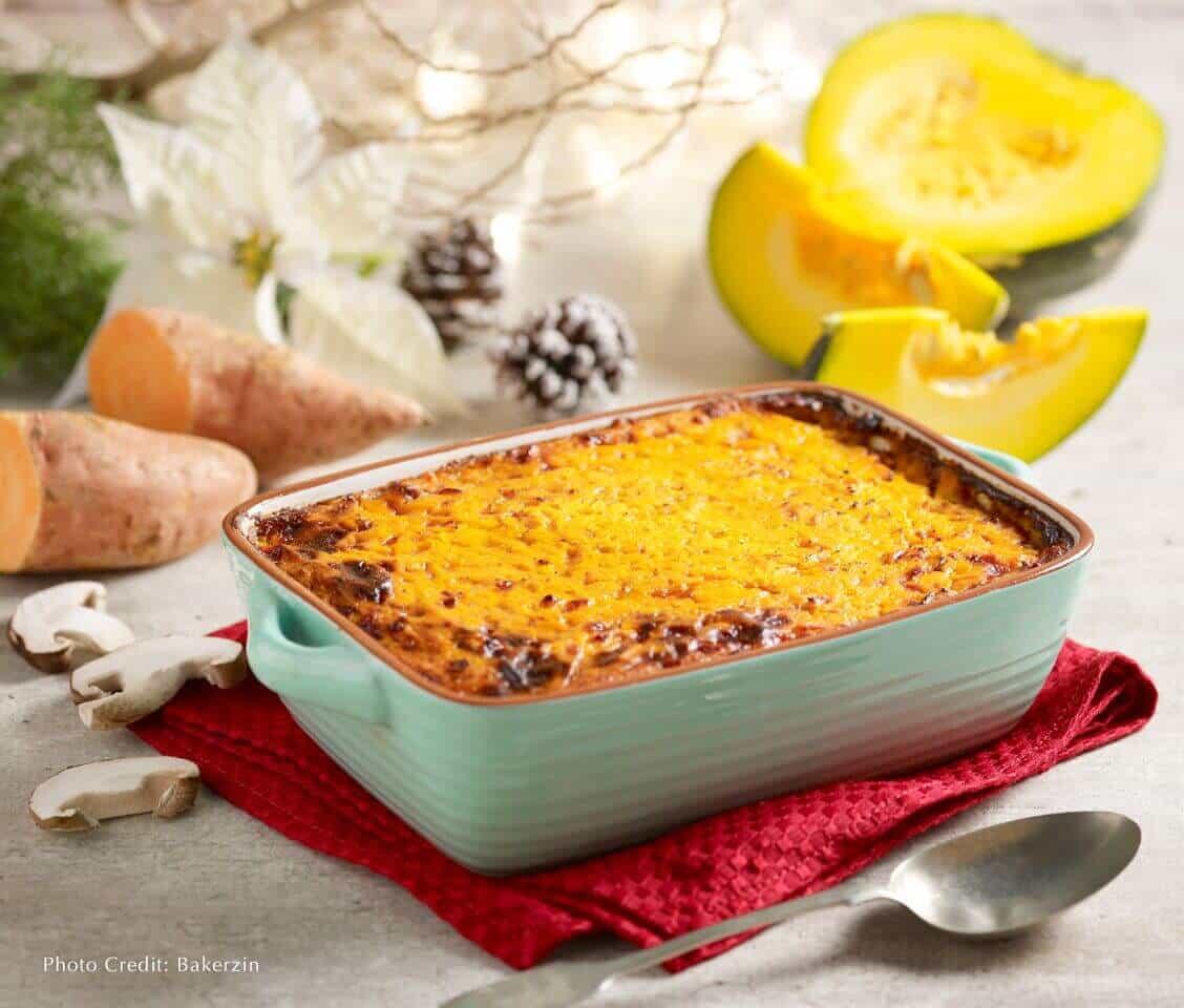 Bakerzin Christmas - Chicken Teriyaki Shepherd's Pie