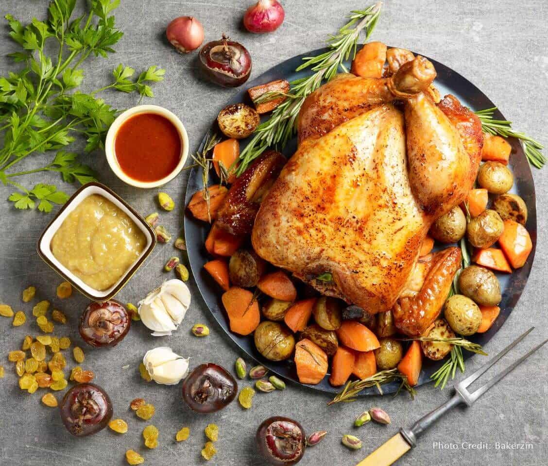 Bakerzin Christmas - Gojujang Capon Chicken
