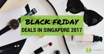 Black Friday Sale in Singapore 2017