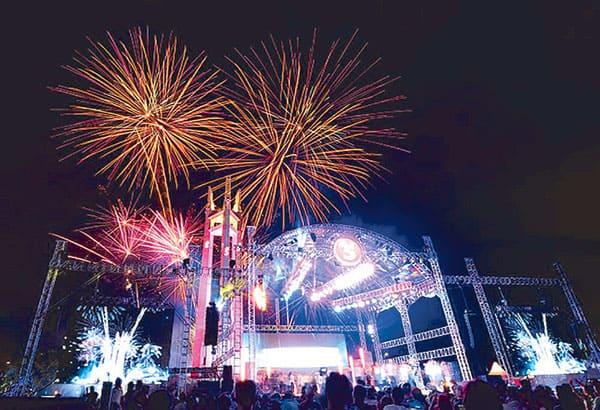 Quezon Memorial Circle_Manila Philippines_Countdown parties in asia