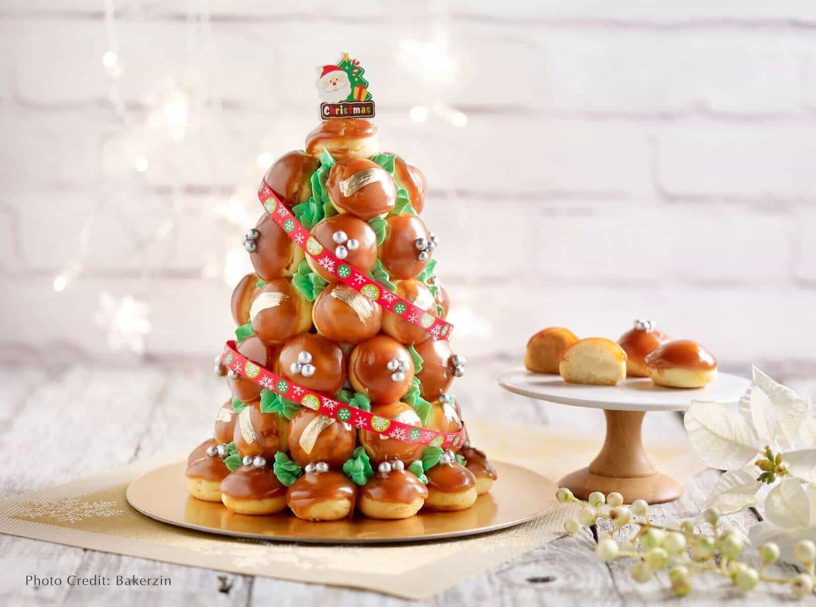 Bakerzin Christmas - Yule Want Croquembouche