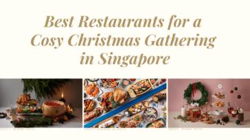 Christmas gathering buffet Singapore