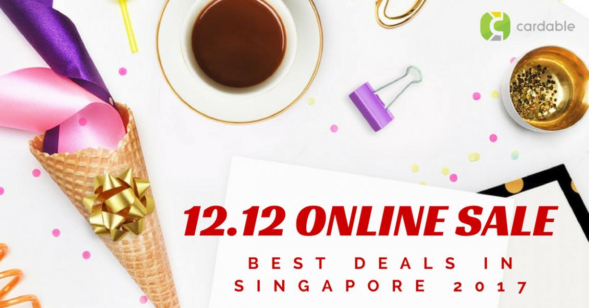 12.12 Online Sale Singapore 2017