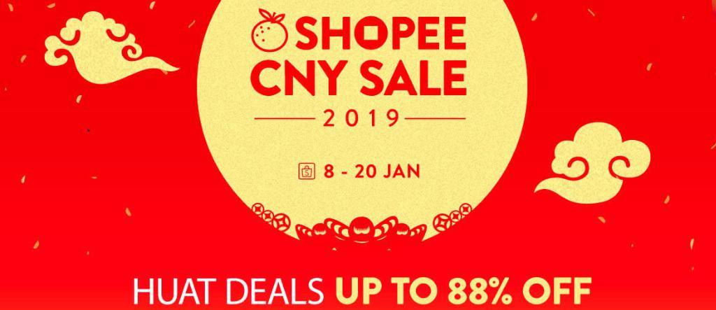 Shopee CNY Mega Sale 2019