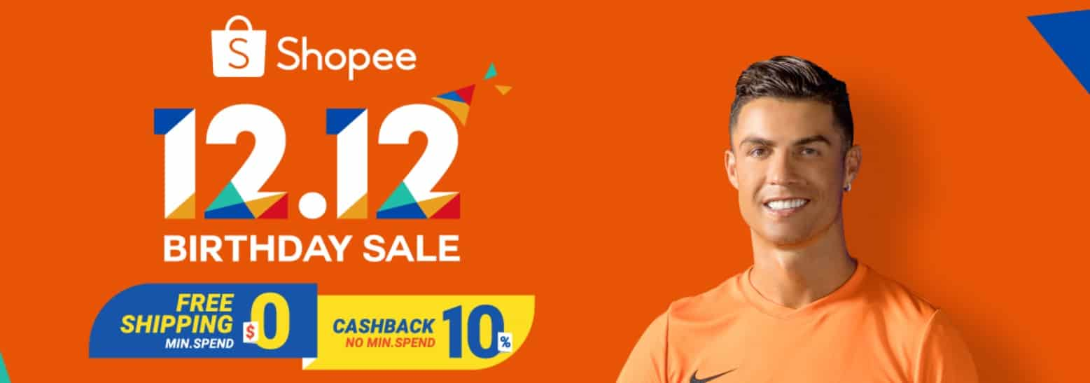 Shopee 1212 Birthday Sale