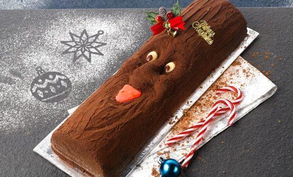 Delifrance log cake