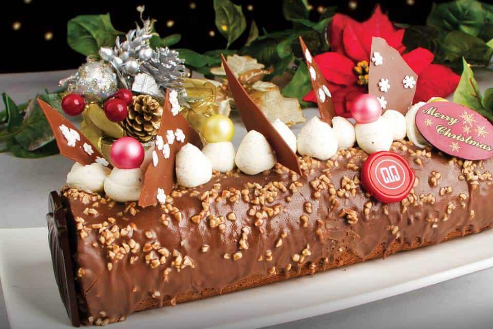 marina mandarin log cake