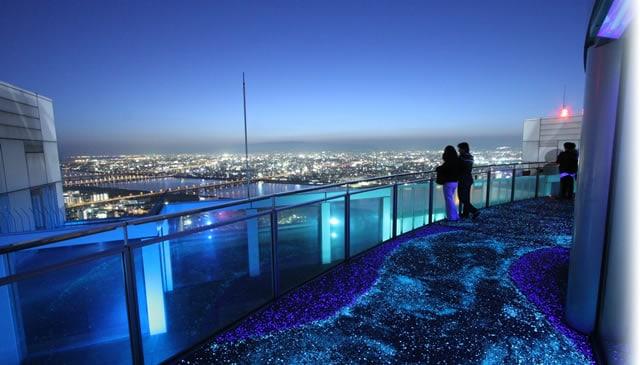 umeda sky building night