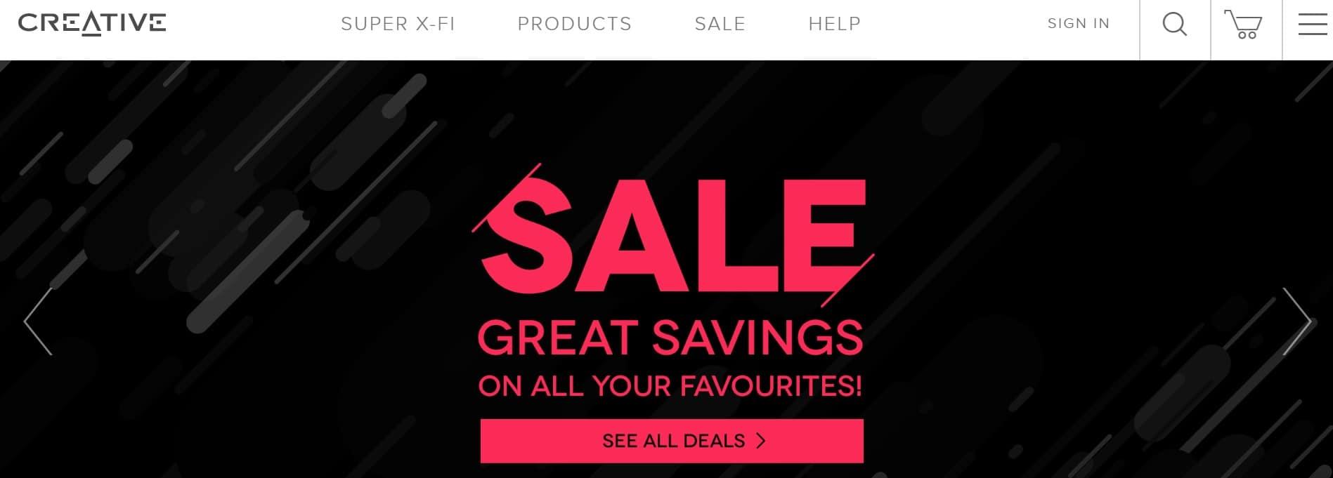 Creative Sale