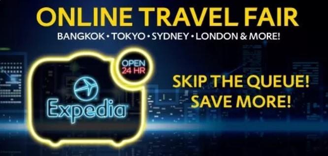 Expedia Online Travel Fair