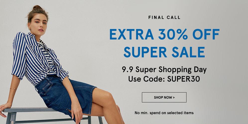 Zalora 9.9 Super Shopping Day