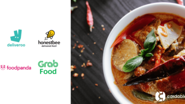 GrabFood, Deliveroo, HonestBee, Food Panda