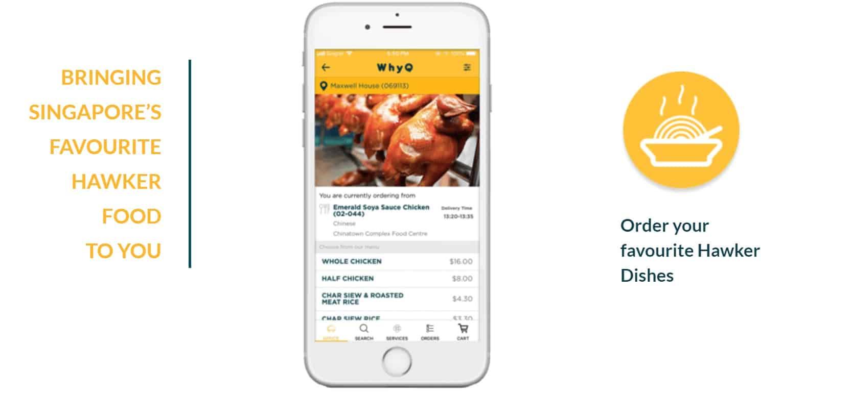 WhyQ Hawker Food Promo Code