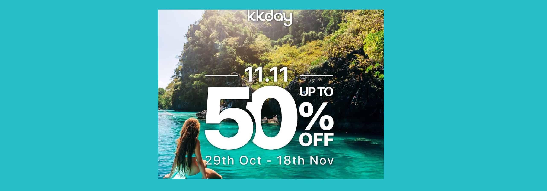 KKDAY 11.11 sale