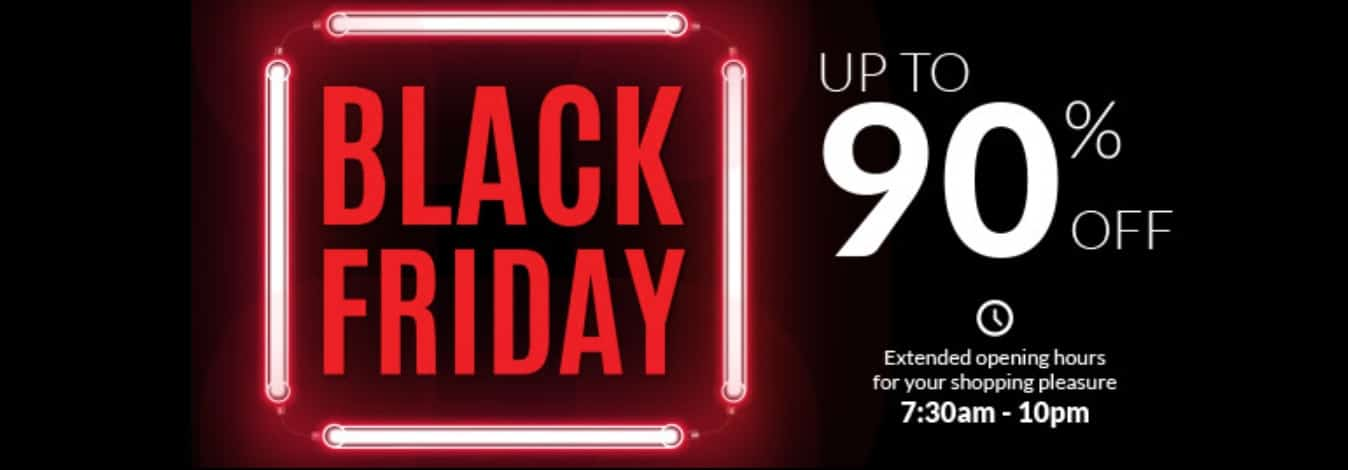 Metro Black Friday Sale