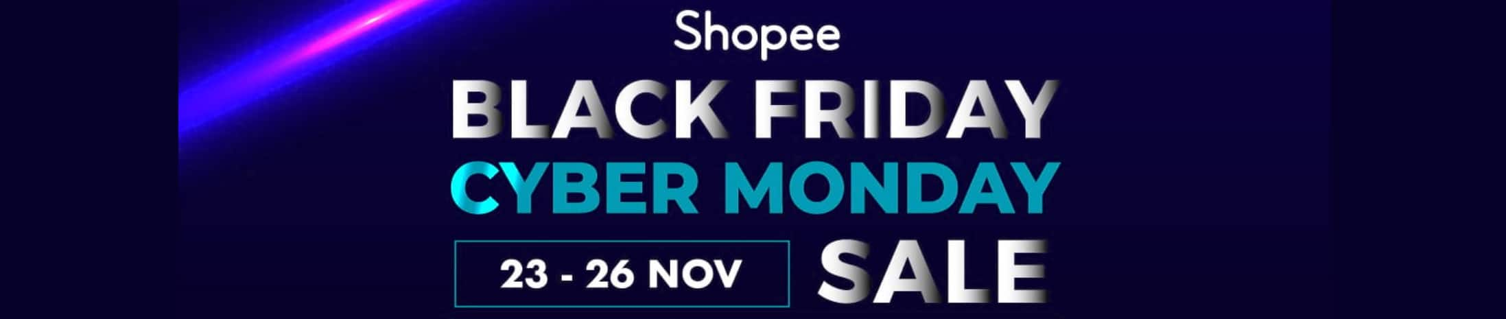 Shopee Black Friday Cyber Monday