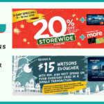 Watsons Promotions for December 2018