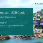Cathay Pacific x UOB Promotion 2019