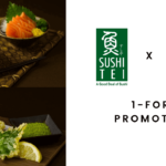 Sushi Tei 1-for-1 Promotions 2019