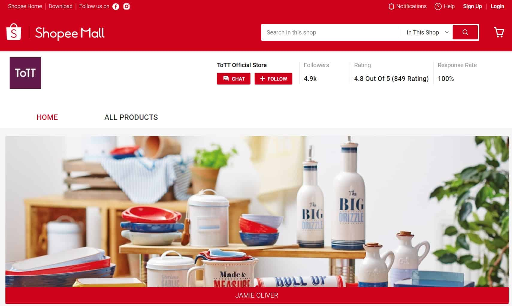 ToTT Kitchen Ware Official Store Shopee