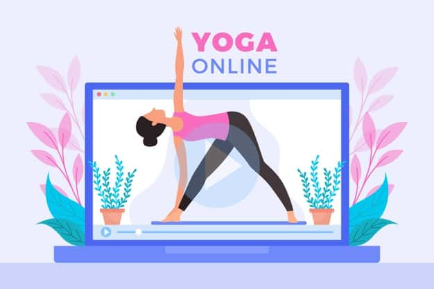 Productive Stay Home_Yoga Courses