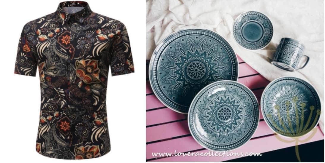 Batik Singapore Shopee
