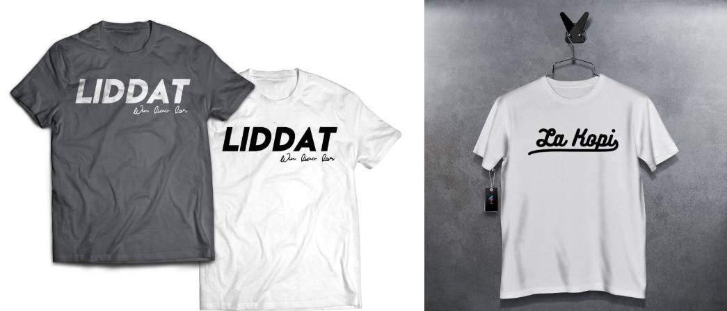 Singlish Shirt Shopee