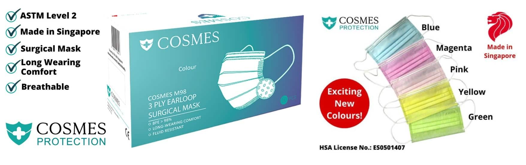 Cosmes Surgical Mask