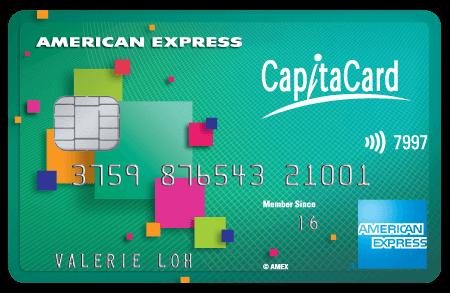 AMEX, CapitaCard