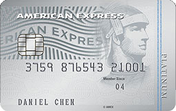AMEX, Platinum Credit Card