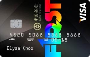 BOC-F1RST Card